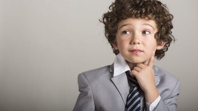 ネクタイ少年